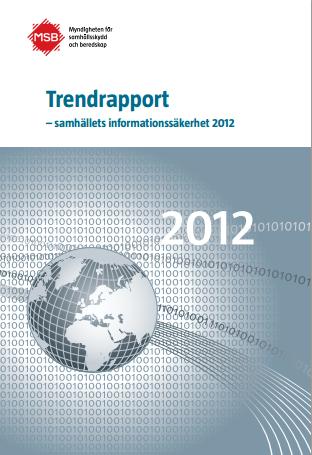 MSB Trendrapport 2012