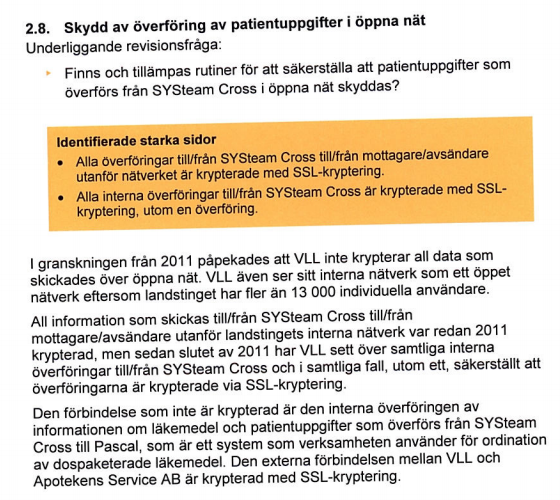 kryptering vården