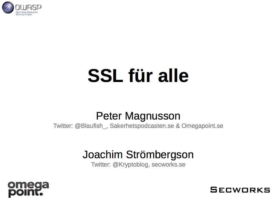 OWASP SSL