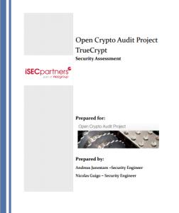 Granskning av TrueCrypt