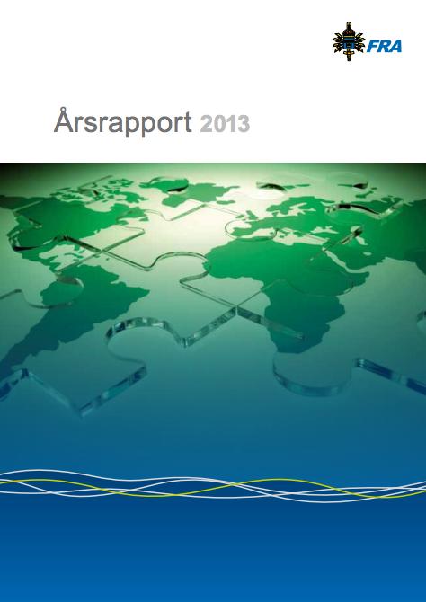 FRA Årsrapport 2013