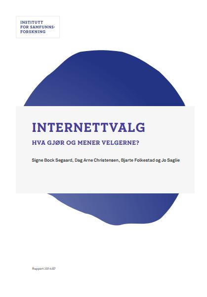 Rapport Internettvalg