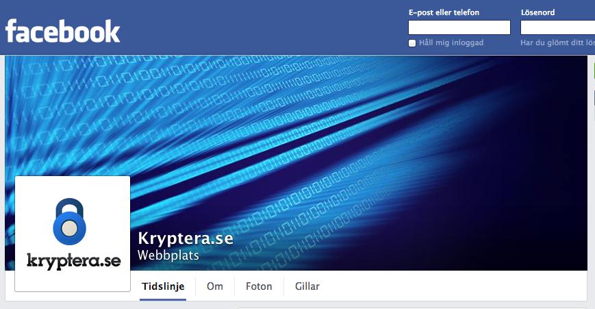 Facebook kryptera