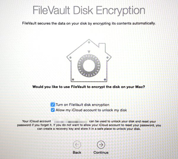 Apple FileVault 2