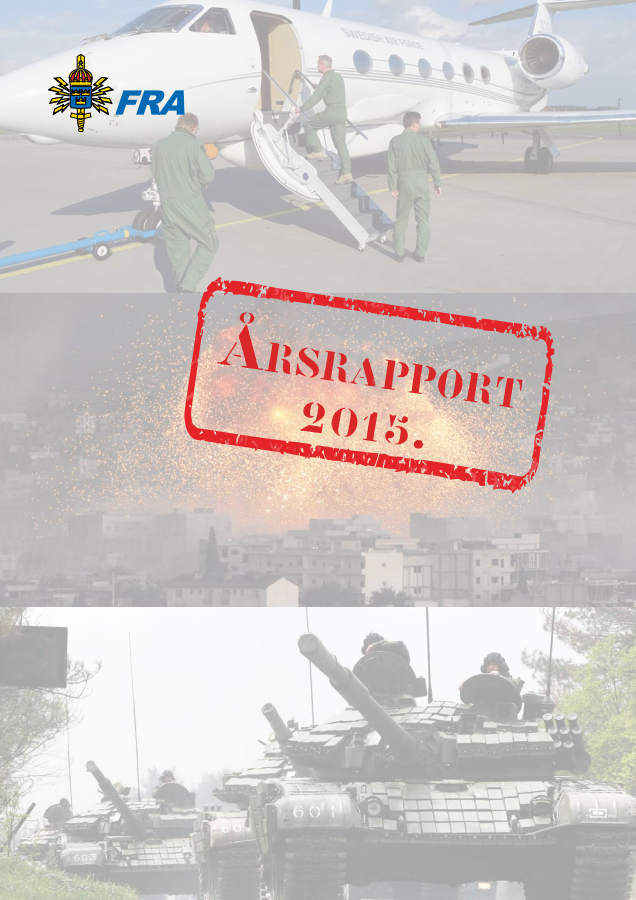 FRA årsrapport 2015