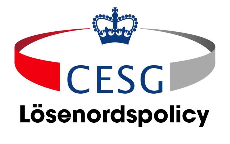 CESG Lösenord
