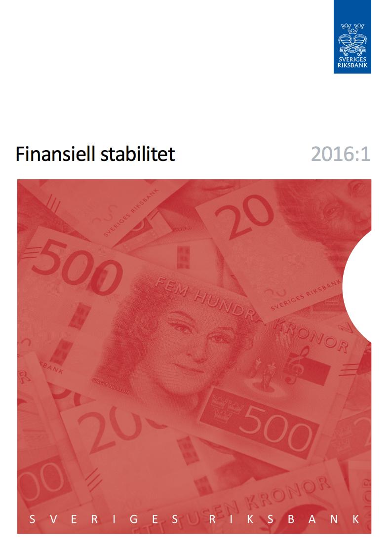 Riksbanken Finansiell Stabilitet 2016