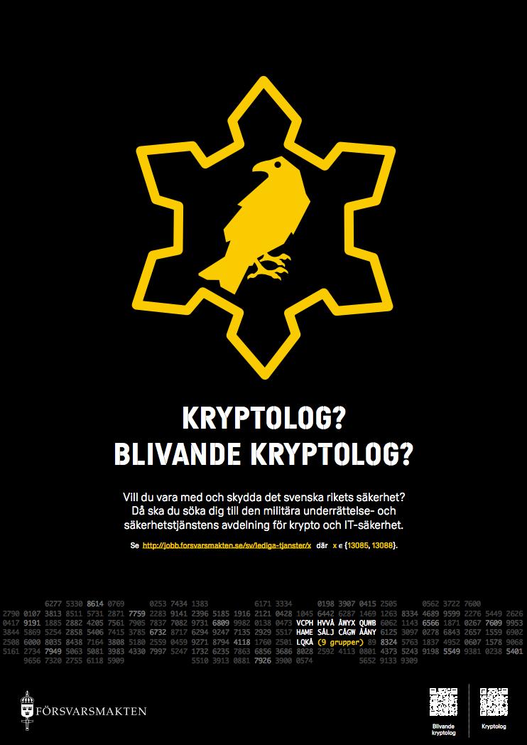 Blivande kryptolog?