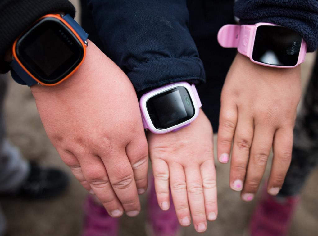 GPS spårningsklockor för barn