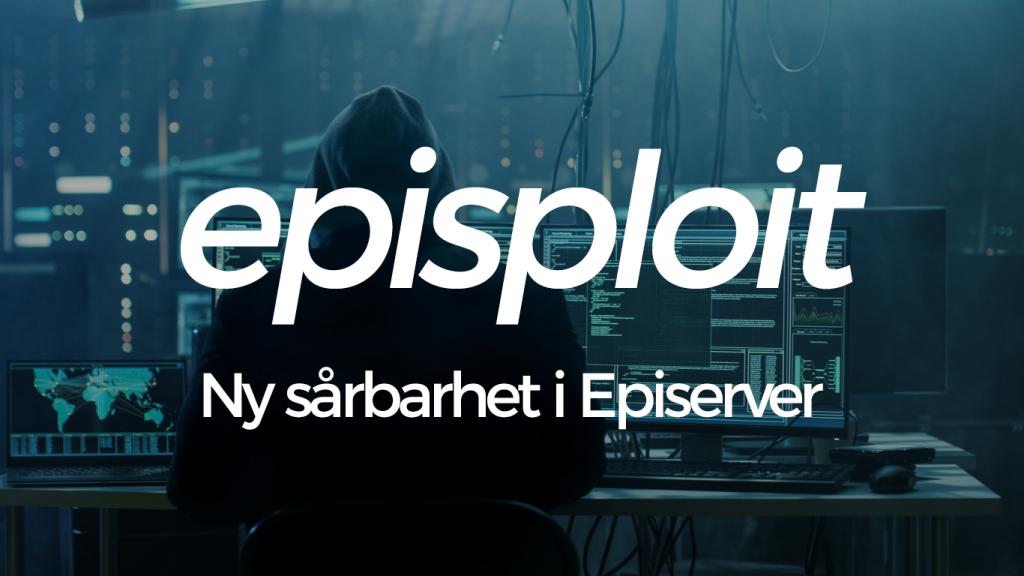 Episploit - Klart Episerver sårbarheten ska ha en logo