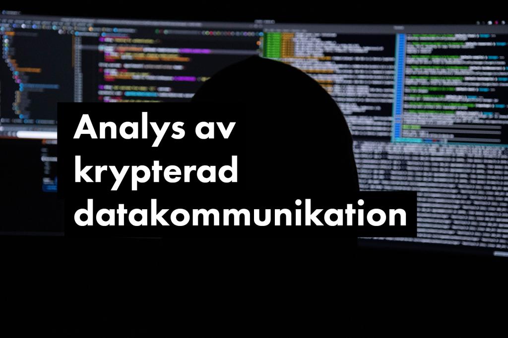Analys av krypterad datatrafik