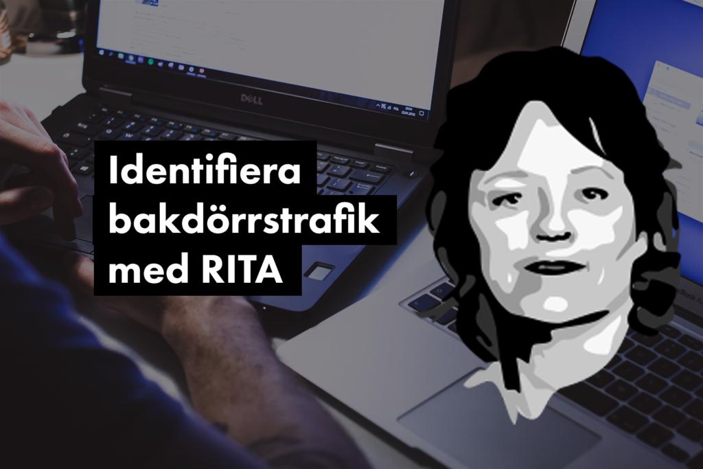 Identifiera beacons (bakdörrstrafik) med RITA